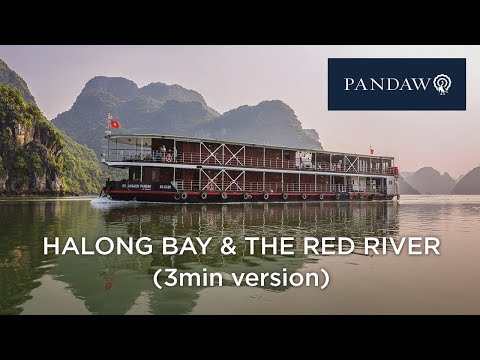 Halong Bay and Red River Pandaw 3min