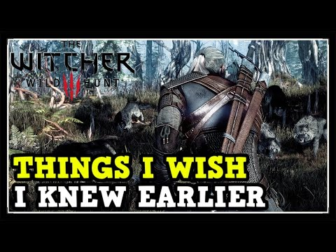 Things I Wish I Knew Earlier In The Witcher 3 Wild Hunt (Tips & Tricks)