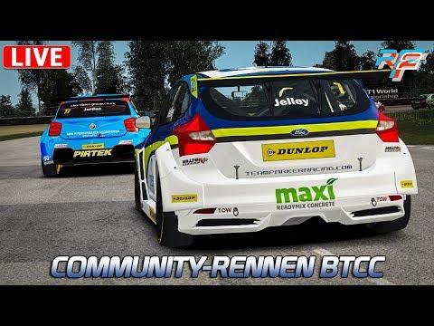 BTCC - Community-Rennen 14 | Rfactor 2 German Gameplay [DX11] [GER] BTCC @ Zolder