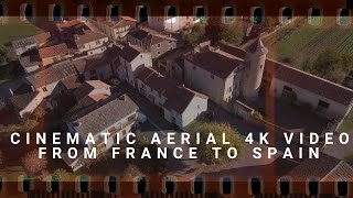 Cinematic 21:9 aspect ratio AERIAL video with XIAOMI MI 4K drone