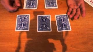 Бесплатное обучение фокусам #8: Карточные фокусы для уличной магии! Обучение фокусам для новичков!
