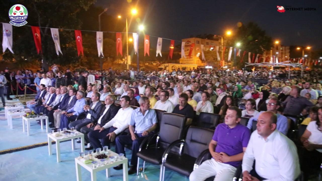 Lapseki 32. Geleneksel Kiraz Festivali 1 Temmuz Kabotaj Bayramı Yarışları ve Mustafa Ceceli Konseri