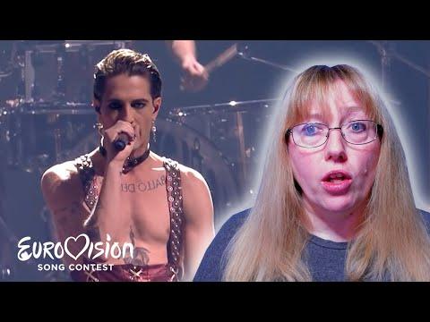 Vocal Coach Reacts to Måneskin 'Zitti E Buoni' LIVE Eurovision 2021 Italy