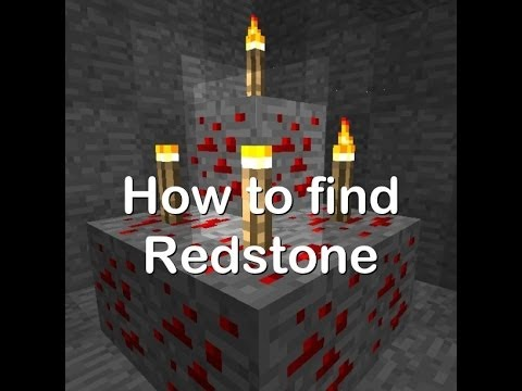 How To Find Redstone In MCPE