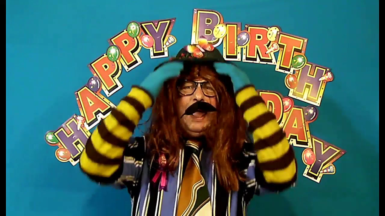 Funny Happy Birthday CUTIE song