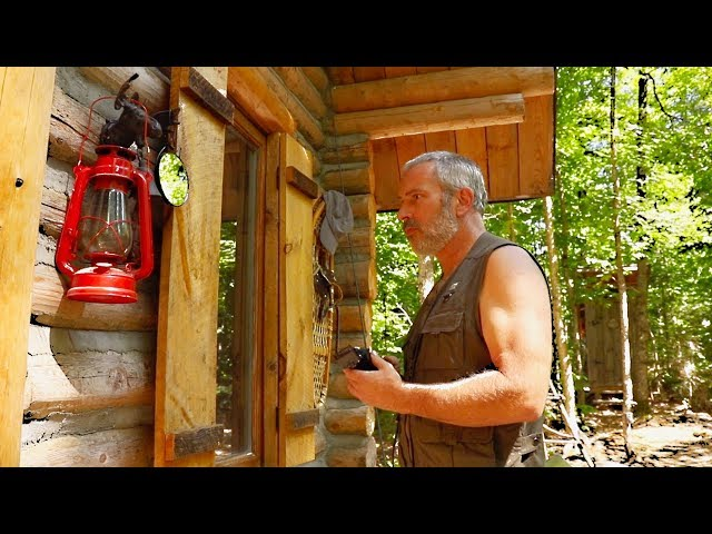 DIY Porch Build | Off Grid Haircut | Bear Pot Roast in the Forest Kitchen