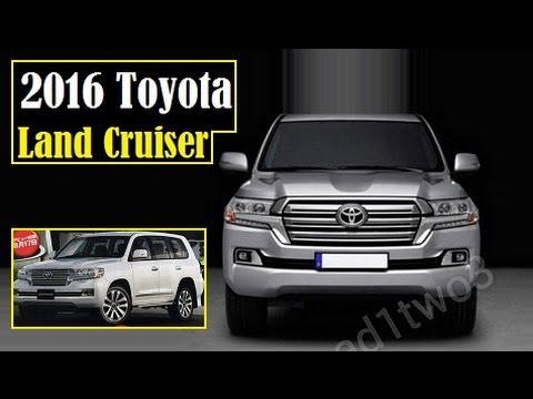 2016 Toyota Land Cruiser Latest Leaked Images After Anese Mag You