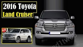 2016 Toyota Land Cruiser, latest leaked images after Japanese mag