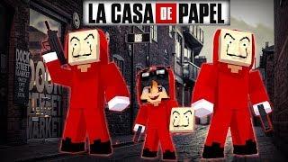 Minecraft: Who's Your Family? - LA CASA DE PAPEL O ROUBO PERFEITO