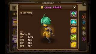 Summoners war: Orochi The Wind Ninja