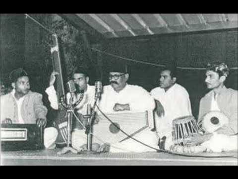 Ustad Bade Ghulam Ali Khan- Raag Puriya Dhanashree & Raag Bahar