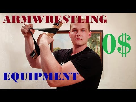 How To Make Armwrestling Equipment! | WRIST WRENCH | 0$