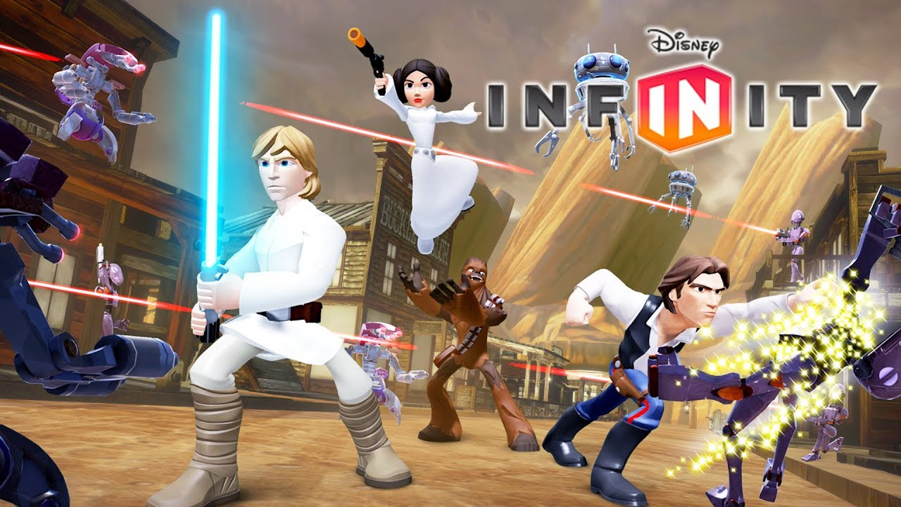 star wars jeux vid o de dessin anim complet en fran ais pour les enfants disney infinity 3. Black Bedroom Furniture Sets. Home Design Ideas