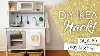 DIY IKEA PLAY KITCHEN HACK!