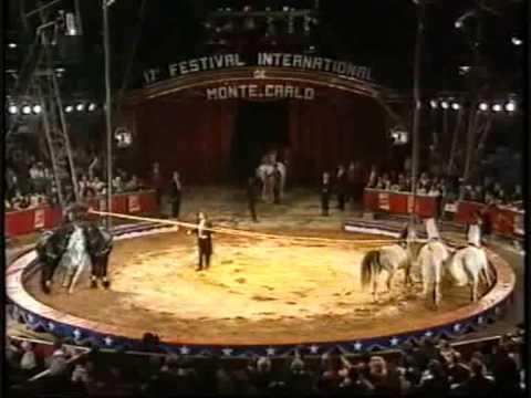 Geraldine Knie Zirkusprinzessin Ungarische Post 17. Circusfestival Monte Carlo 1993