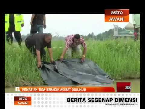 Kematian tiga beradik akibat dibunuh di Alor Setar, Kedah