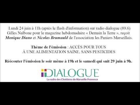 Interview Monique Diano et Nicolas Brumauld à radio Dialogue - Lundi 24 juin 2013
