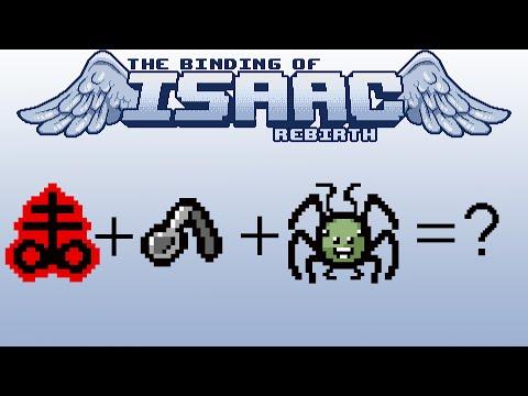 Brimstone+Spoon Bender+Mutant Spider[TBOI:Rebirth COMBO #3]