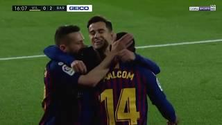 Vіllаrrеаl 4-4 Bаrcеlonа - Geniş Özet - 02.04.2019 - İspanya Ligi