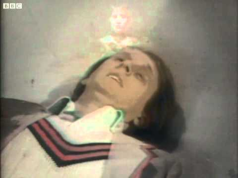 Fifth Doctor regenerates - Peter Davison to Colin Baker - Doctor Who - The Caves of Androzani - BBC