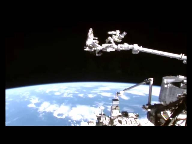 Fastwalker seen by Space Station Camera.
