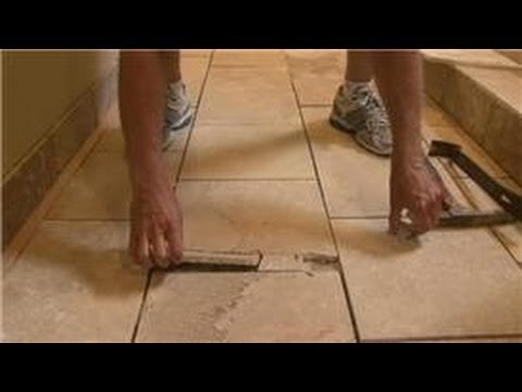 Bathroom Tiling : How to Remove Old Ceramic Tile in ...