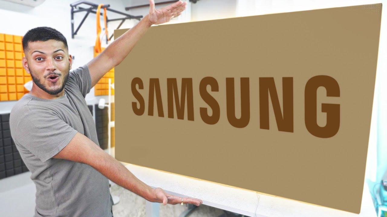 Samsung Sent me Big Box ! *TV*