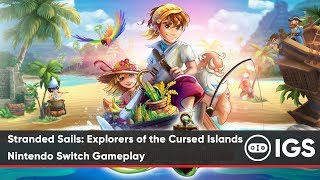 Stranded Sails: Explorers of the Cursed Islands | Nintendo Switch Gameplay