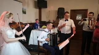 Скрипка и баян на свадьбе Павел и Марина 17 августа 2019 г. Йошкар-Ола