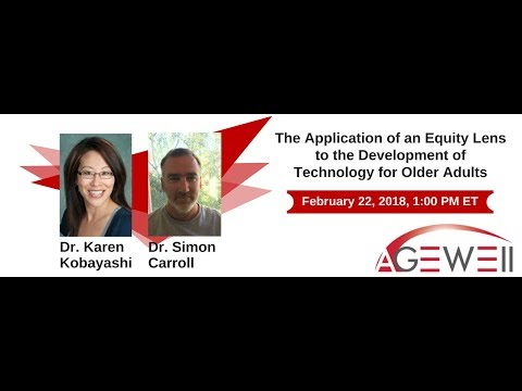 The Application of an Equity Lens to the Development of Technology for Older Adults