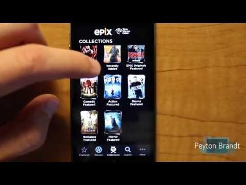 Epix vs Netflix iPhone Apps