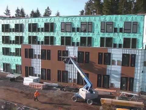 The Point Hotel: Construction Timelapse
