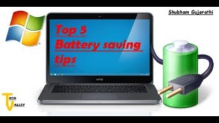 Best Battery saving tips that improve your Laptop's battery life