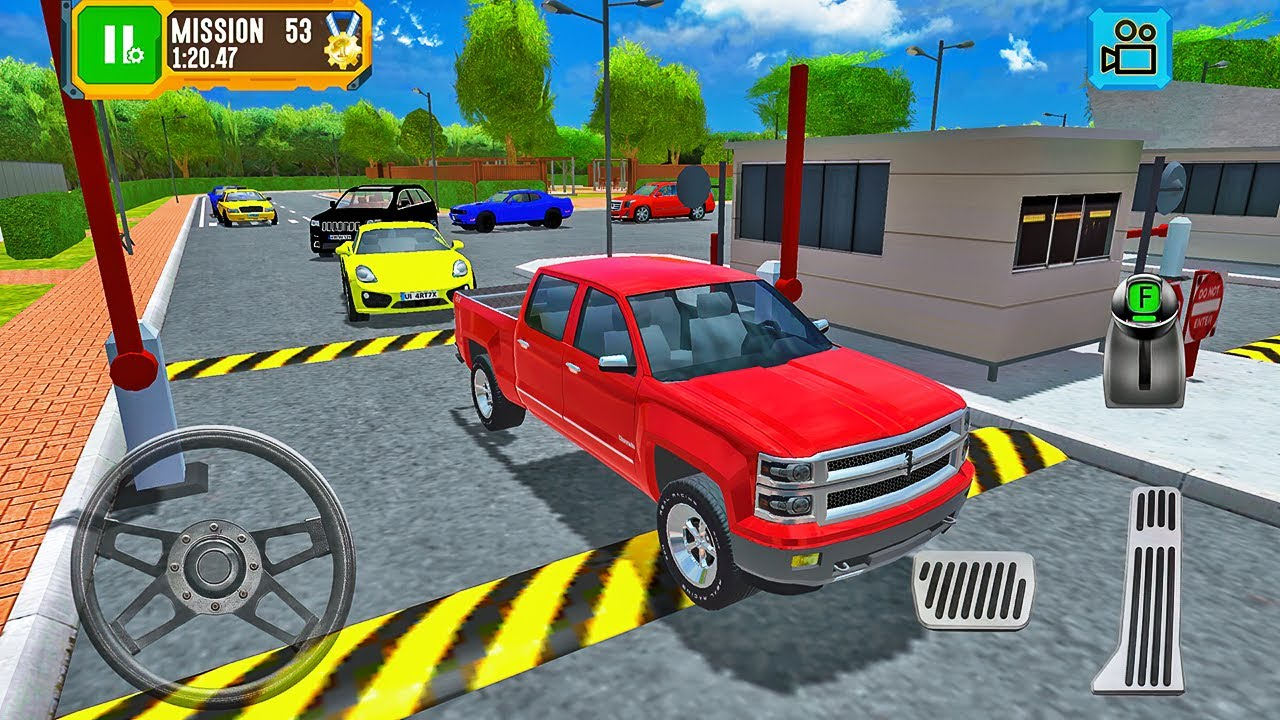 Chevrolet Colorado Pickup Truck Driving - Truck Driver: Depot Parking Simulator - Android Gameplay