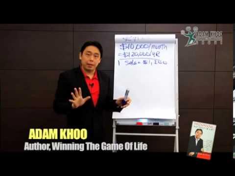 Adam Khoo - Winners Take Calculated Risks!