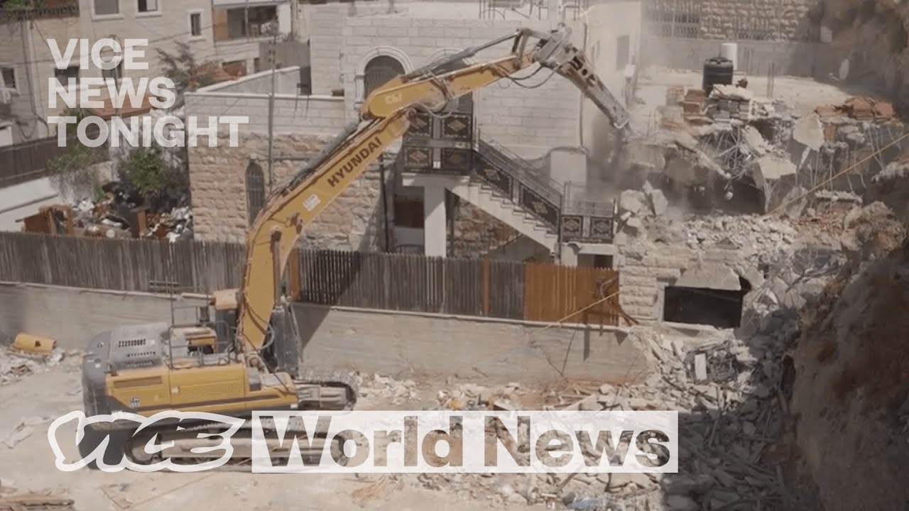 For Vice News Tonight from SIlwan Jerusalem