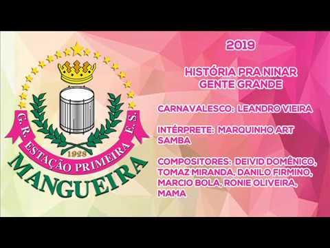 Mangueira 2019 - História para ninar gente grande