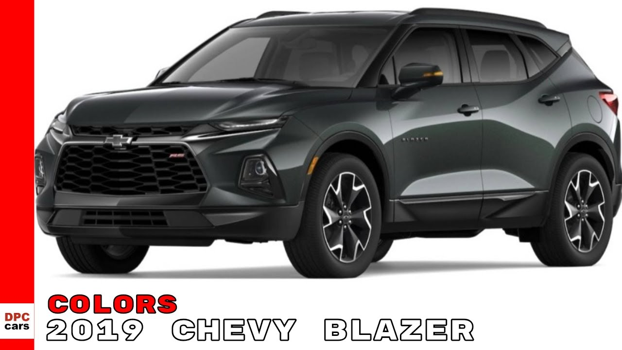 2019 Chevy Blazer Colors - Chevrolet - YouTube