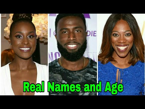Insecure Cast Real Names and Age | Season 3 | 2018