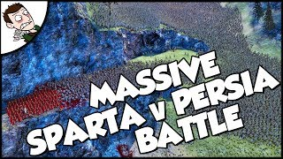 Massive 300 Spartan v 30000 Persian Battle - Ultimate Epic Battle Simulator 1.0 Gameplay
