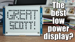 The best low power display? E-Paper Tutorial