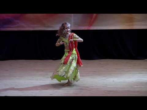 Mere Sapno Ke Rajkumar. Мария Емец /Indian dance group