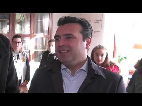 Ora News- Rama dhe Zaev në Pustec, priten me këngë në shqip dhe maqedonisht