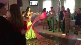 Восток шоу на свадьбе в Москве LINDA SHOW