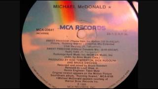 "Michael McDonald - ""Sweet Freedom (Freedom Mix - Extended Club Version)"""