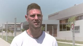 Operación de rodilla por artroscopia. Jaime Gavilán. Futbolista San Sebastián de los Reyes.