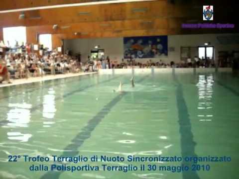 22 trofeo terraglio di nuoto sincro del 30 maggio 2010