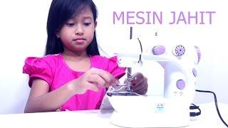 Mainan MESIN JAHIT Bisa Menjahit Beneran 💖 Mini Sewing Machine 💖 Let's Play Jessica 💖