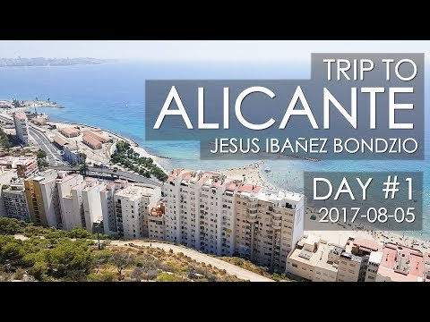 ALICANTE | SPAIN | Trip | Day #1 | Santa Bárbara castle & Explanada de España & Port of Alicante