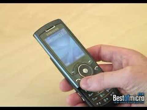 Review of a Samsung SGH-U600 (Mobile Phone)
